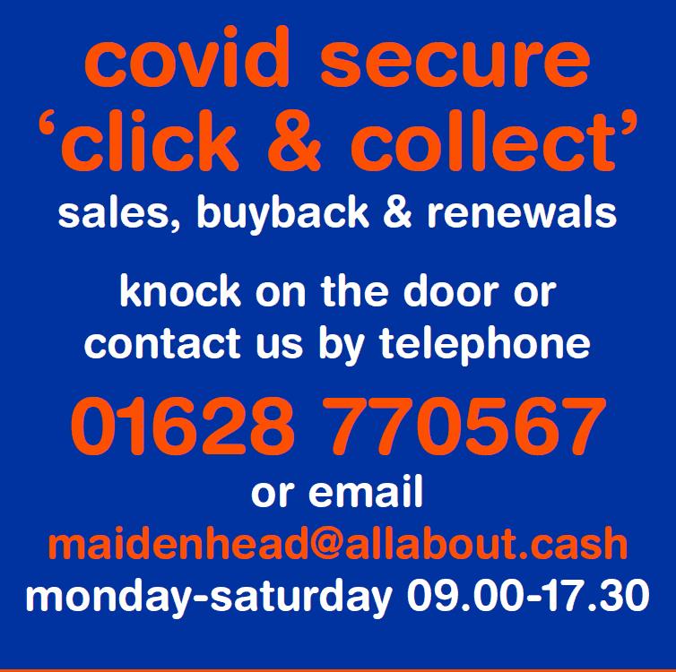 Covid Click and Collect Maidenhead
